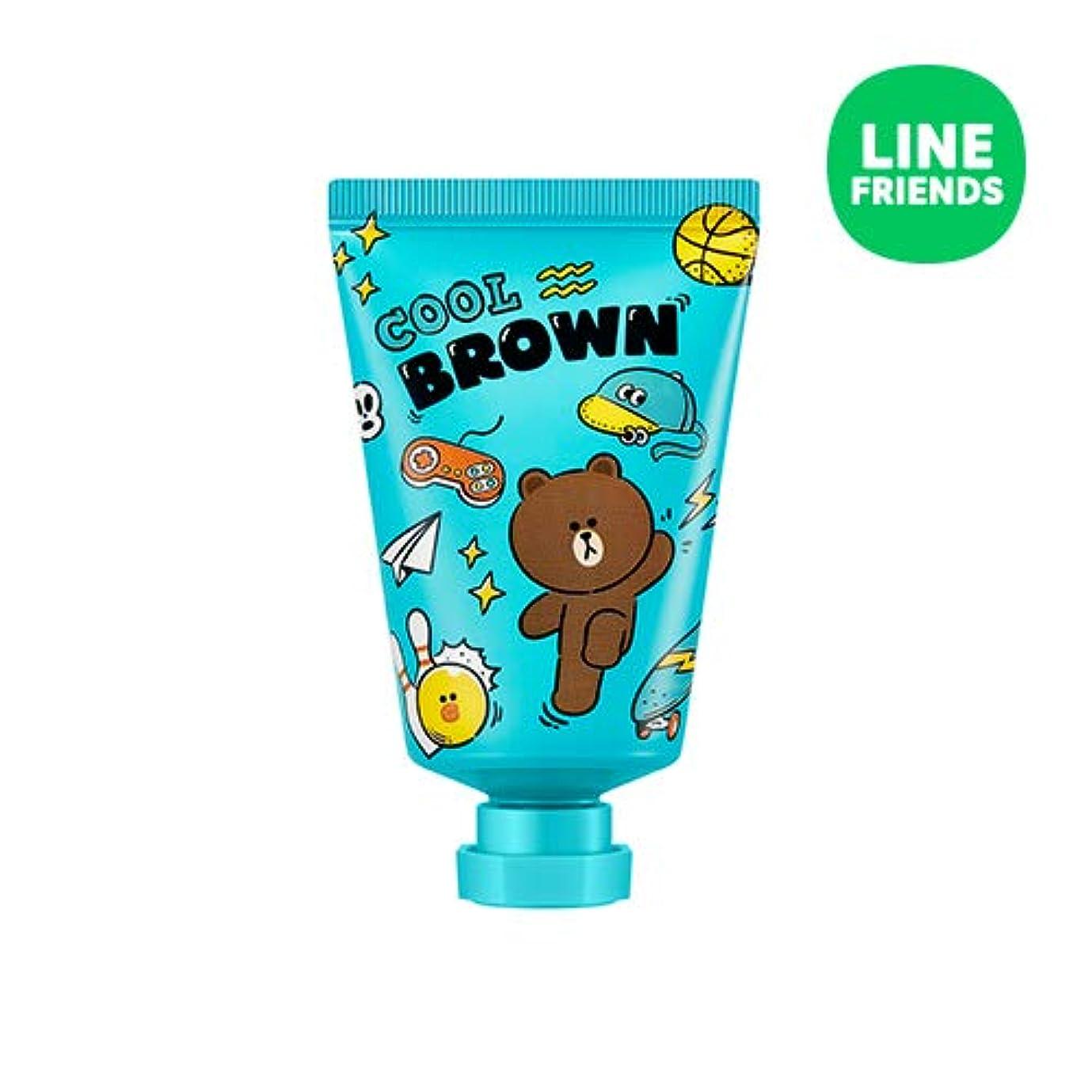 交通掘るチロミシャ(ラインフレンズ)ラブシークレットハンドクリーム 30ml MISSHA [Line Friends Edition] Love Secret Hand Cream - Brown # Grapefruit [並行輸入品]