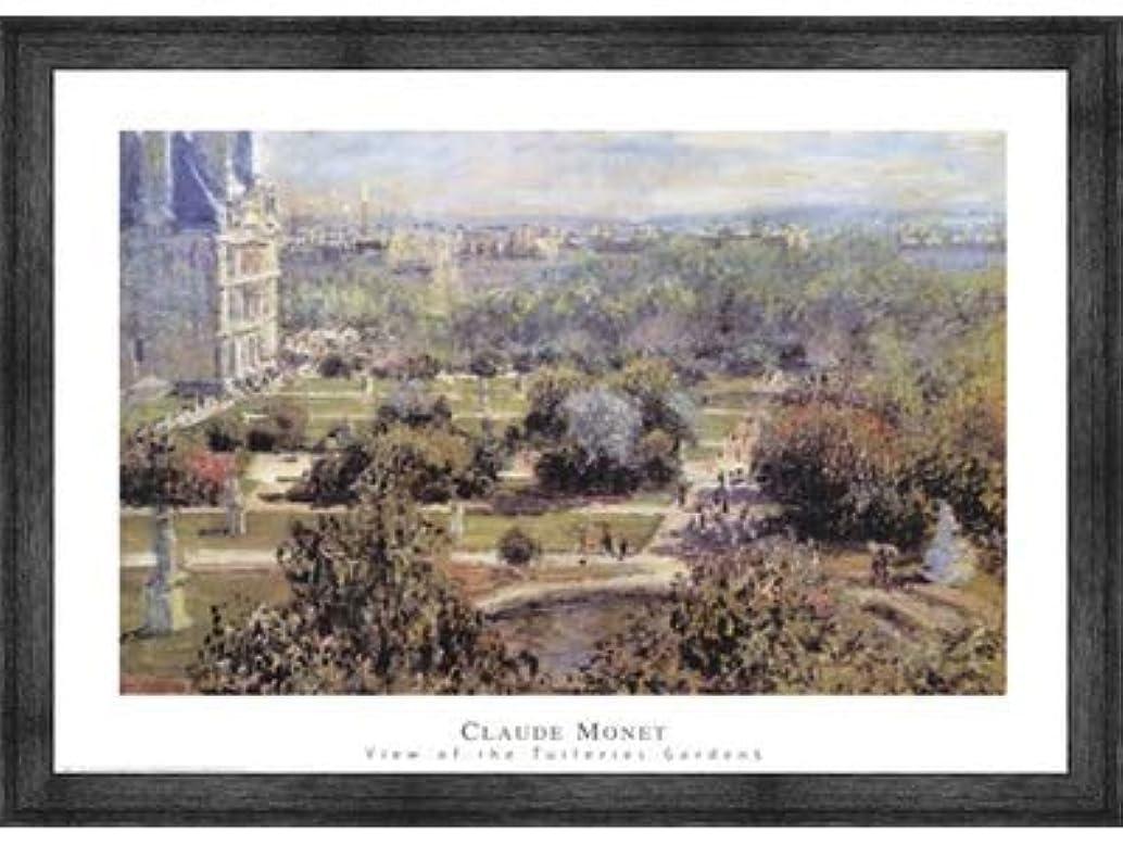 セメント均等にカップルView of Tuileries Gardens by Claude Monet – 32 X 24インチ – アートプリントポスター 32 x 24 Inch LE_25908-F10588-32x24