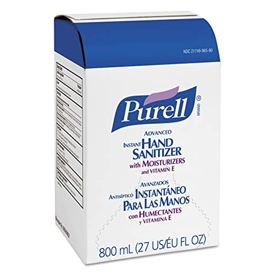 PURELL 965606CT Instant Hand Sanitizer Refill Bag-In-Box, 800mL (Case of 6),Clear by Purell