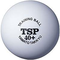 ティーエスピー(TSP) 卓球 ボール 40mm+トレーニングボール 10ダース入 010045