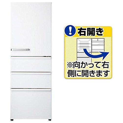 アクア 355L 4ドア冷蔵庫(ナチュラルホワイト)【右開き】...
