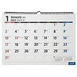 能率 NOLTY 2021年 カレンダー 壁掛け 40 A3 C140 ([カレンダー])