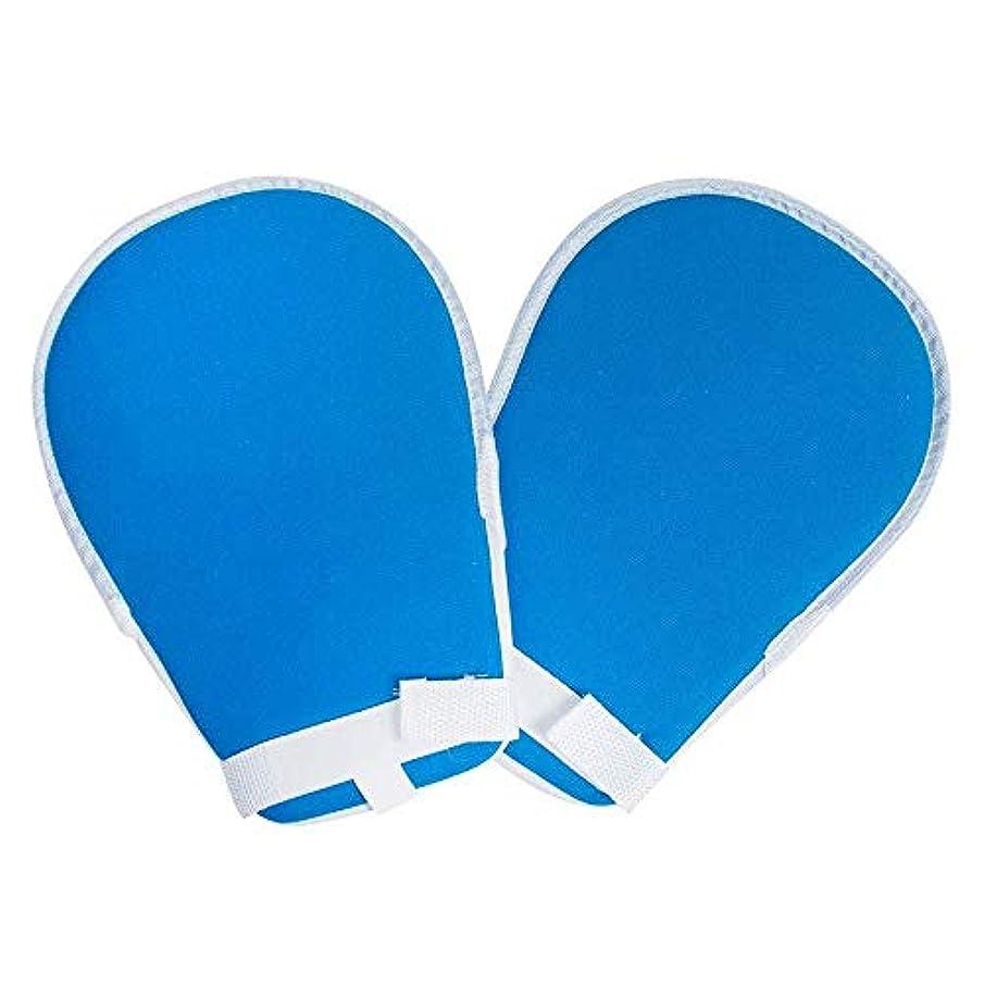 一スキーゲートプロテクターパッド入りフィンガーコントロールミット防止チューブ手防止予防患者の傷自己害患者の手感染指の害固定高齢者