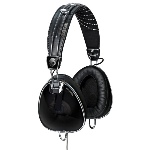 Skullcandy ヘッドホン/Roc Nation AVIATOR with Mic3 Black 【並行輸入品】