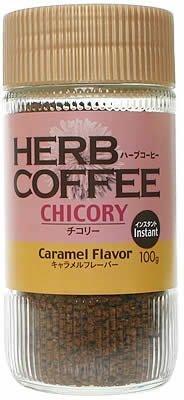 ハーブコーヒー インスタント チコリーキャラメルM 100g