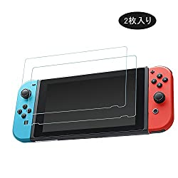 Nintendo Switch フィルム ニンテンドースイッチ専用 液晶保護フィルム 超薄型 耐指紋 撥油性 99%高透過率 2枚入りby Yoofor