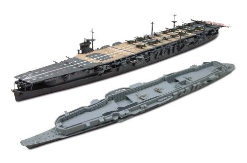 青島文化教材社 1/700 ウォーターライン 日本海軍航空母艦 蒼龍 インド洋開戦 内部格納庫再現