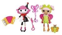 Mini Lalaloopsy Doll-ミニララループシードール-Fun House Charlotte and Blossom, Pack of 2並行輸入品