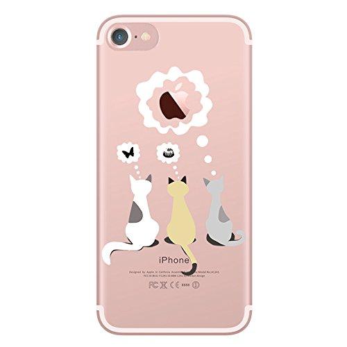 iPhone 6 ケース かわいい UCMDA 人気 透明 ...
