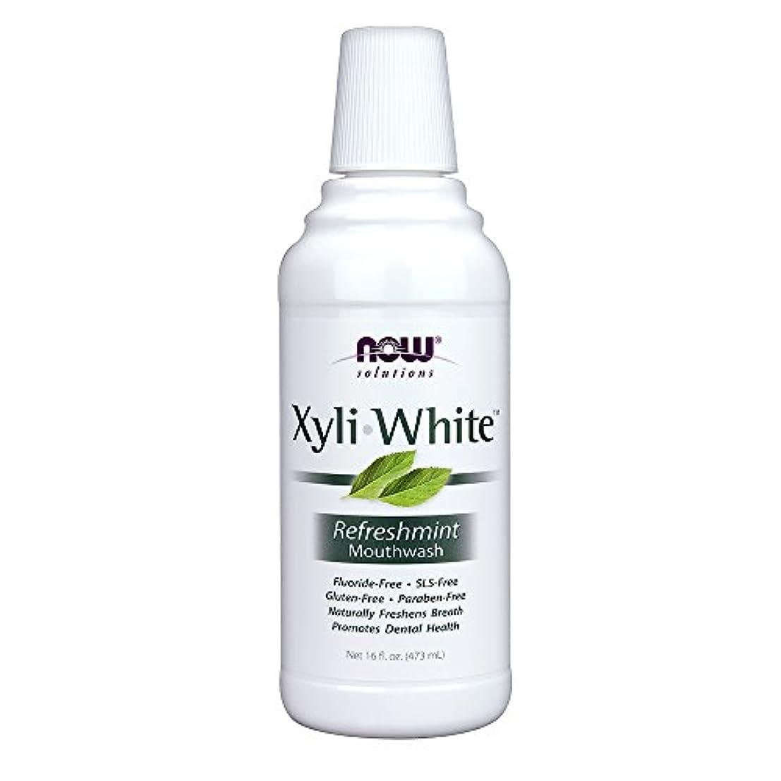 気づく熱帯の急速なキシリホワイト マウスウォッシュ リフレッシュミント  16 fl.oz 2個パック