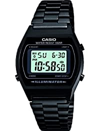 カシオ Casio B640WB-1AEF Men's メンズ 男性用 Retro Collection Digital Black Watch 時計 [並行輸入品]