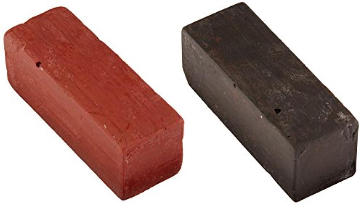 蓋来て過度のErbe strop paste for leather strops, black/red