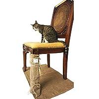 猫 爪研ぎ 麻 マット 爪とぎ 爪磨き ねこタワー キャットタワー交換用 ネコの爪とぎ 家具保護 70x50cm(27½x19¾ in))