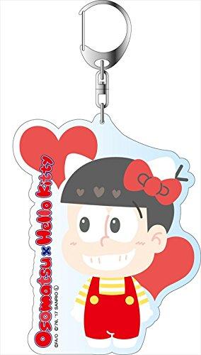 おそ松さん×Sanrio Characters デカキーホルダー おそ松×ハローキティ A コンテンツシード