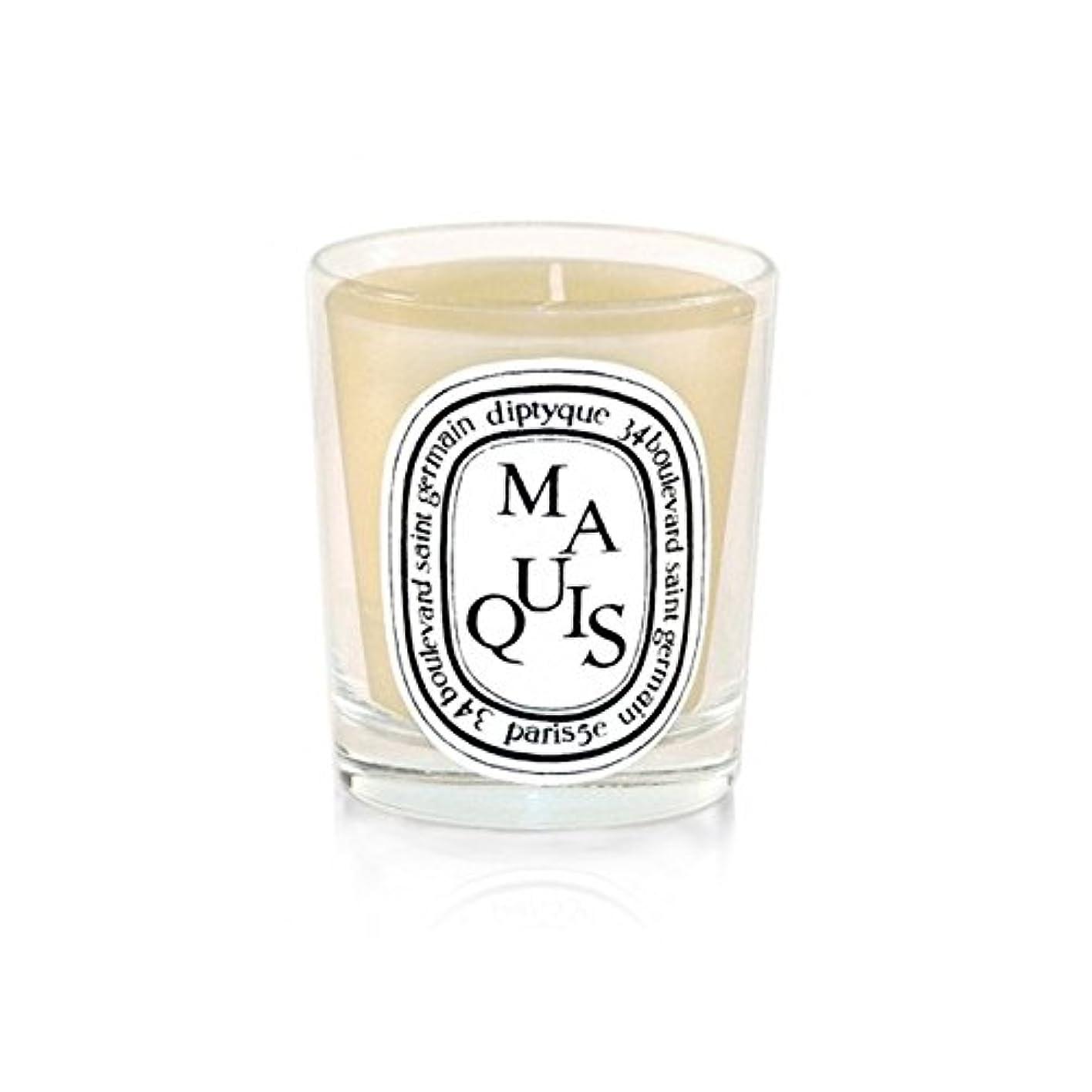 工業用仮装第五Diptyque Candle Maquis / Maquis 190g (Pack of 2) - Diptyqueキャンドルマキ/マキ190グラム (x2) [並行輸入品]