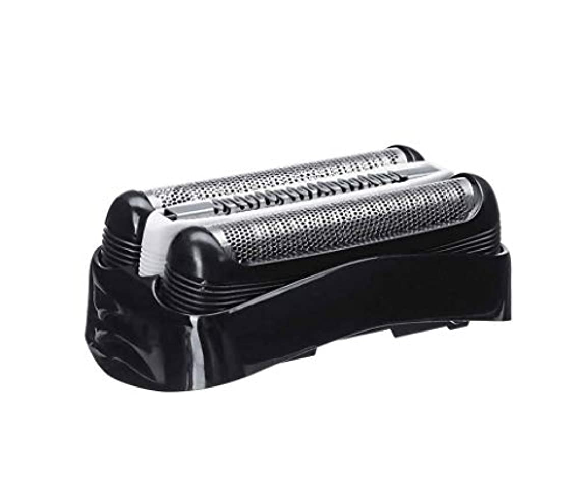 雑草気質フェデレーションSHEAWA ブラウン シェーバー対応替刃 シリーズ3用 32B ブラック Braunシェーバー専用