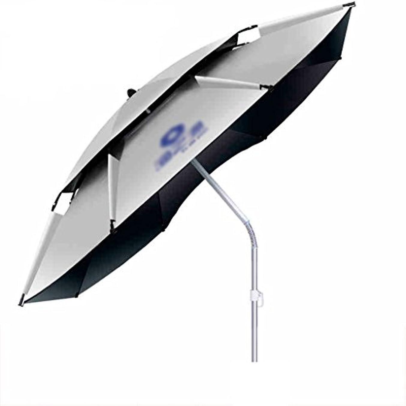 どれでも馬鹿げたサイバースペースLSS 屋外アンブレラ|釣り傘|傘| 2.4厚い魚の傘| 2.2メーター|ユニバーサル|アンチアンブレラ|釣り傘|フィッシングギア|屋外釣りの傘 (サイズ さいず : 240cm)