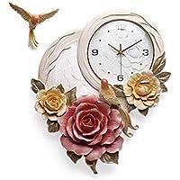 おしゃれ 立体 レリーフ 時計 掛け時計 リビング 現代 シンプル 超シズネ 掛時計 壁掛け リビング 立体 飾り SFANY