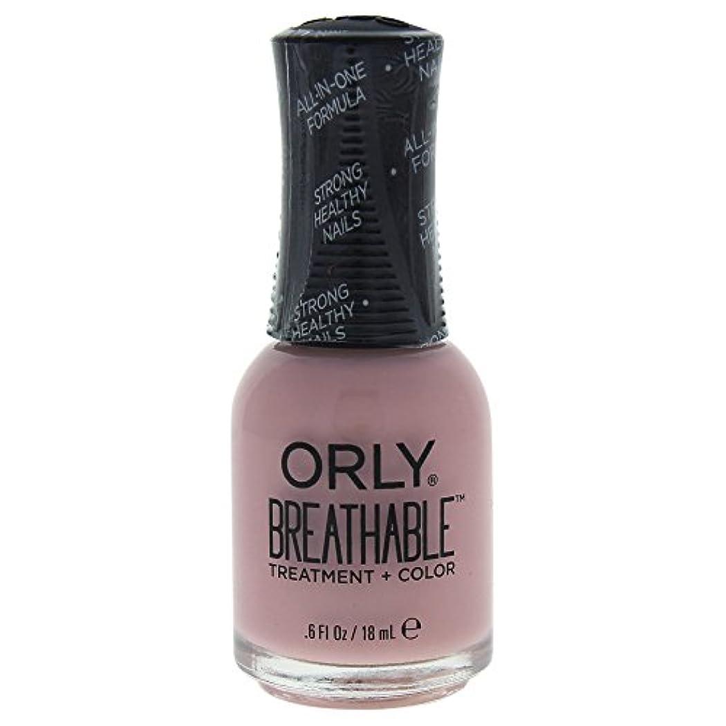うがいシードアグネスグレイOrly Breathable Treatment + Color Nail Lacquer - Sheer Luck - 0.6oz / 18ml