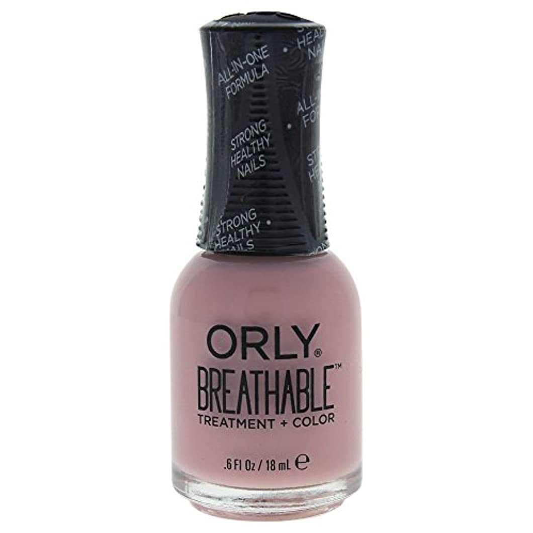 辞任半球修正Orly Breathable Treatment + Color Nail Lacquer - Sheer Luck - 0.6oz / 18ml