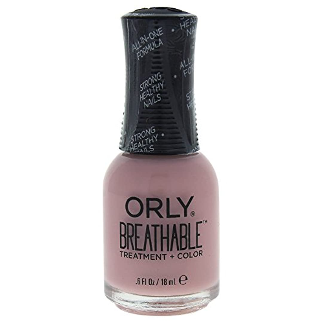グリルレーダー形状Orly Breathable Treatment + Color Nail Lacquer - Sheer Luck - 0.6oz / 18ml