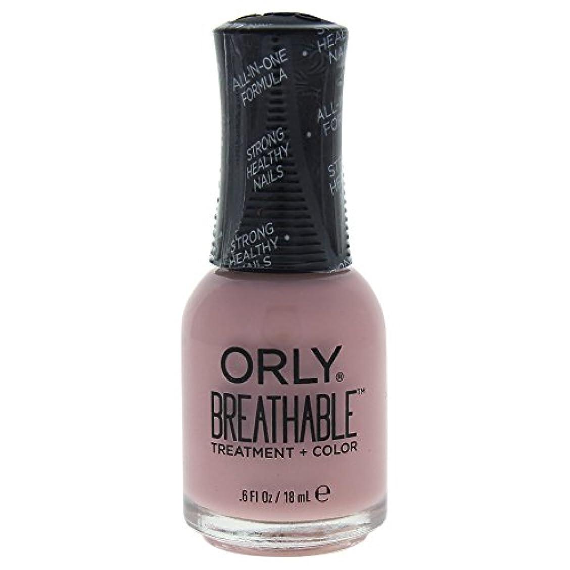 シード市民権キャロラインOrly Breathable Treatment + Color Nail Lacquer - Sheer Luck - 0.6oz / 18ml