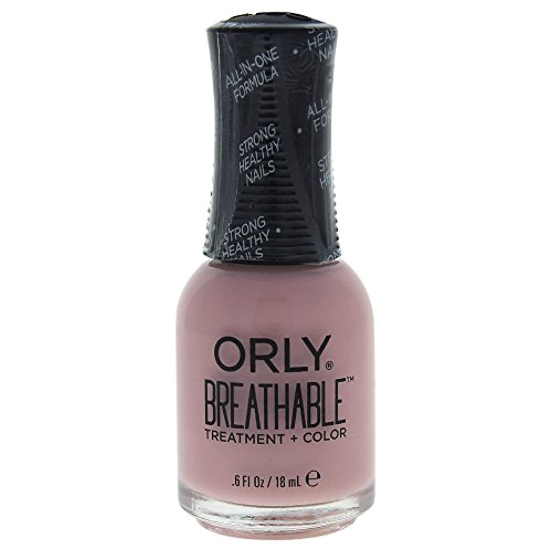 抽出センターアイドルOrly Breathable Treatment + Color Nail Lacquer - Sheer Luck - 0.6oz / 18ml