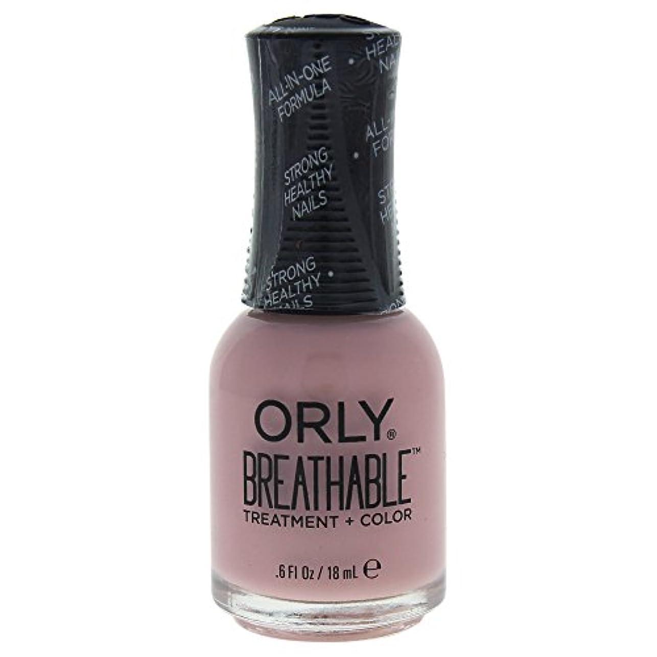 そんなに選挙メリーOrly Breathable Treatment + Color Nail Lacquer - Sheer Luck - 0.6oz / 18ml