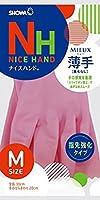 (まとめ買い)ショーワ ナイスハンドミュー薄手 Mサイズ ピンク 【×30セット】