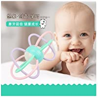 rytetg Kids RattlesパズルHand Ball Rattle and Sensory Teether Activity Toy for Baby