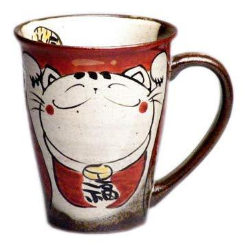 猫 マグカップ 笑い ねこ 有田焼 可愛い マグ ギフト プレゼント