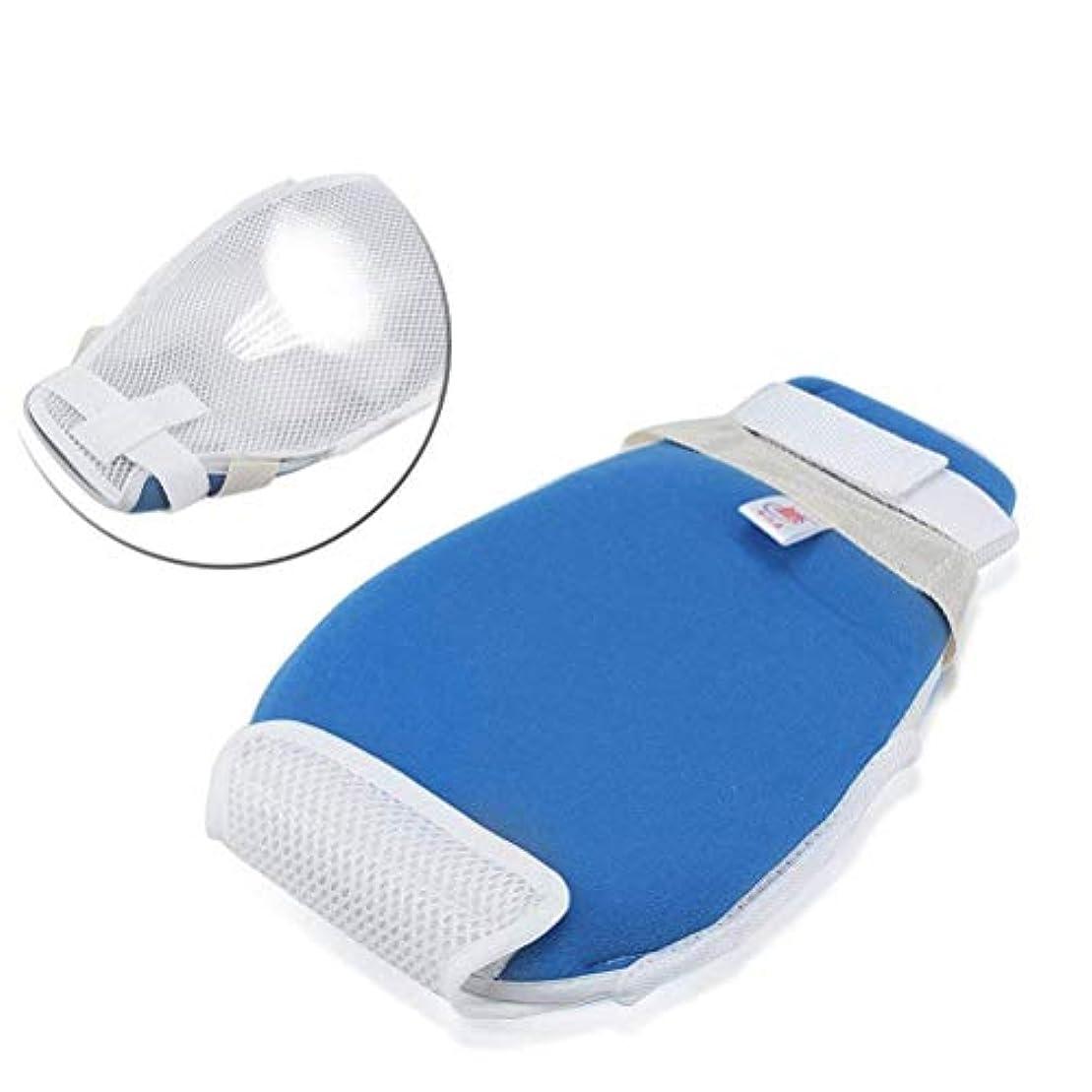 コントロールミット、安全拘束手袋患者の手の感染防止用品、抜管防止スクラッチフィンガーグローブ (Size : 1PCS)