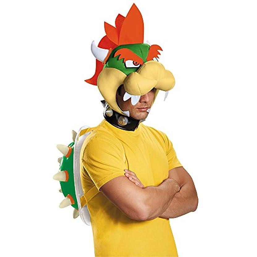 安全な歩行者安全なSuper Mario Bros: Bowser Adult Kit スーパーマリオブラザーズ:クッパ大人用キット?ハロウィン?クリスマス?Standard One-Size