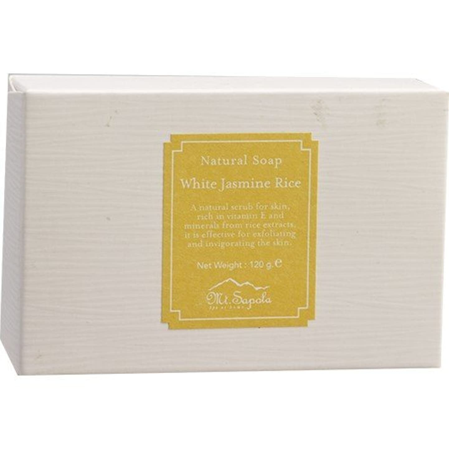 スポットアスレチックフォージMt.Sapola マウントサポラ ナチュラル石鹸 120g ジャスミンライス 日本未発売 [並行輸入品]