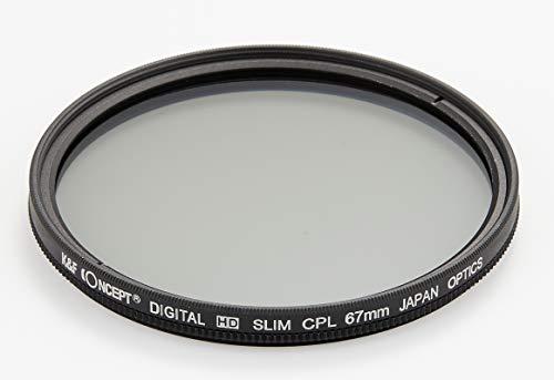 K&F Concept C-PLフィルター 67mm 薄枠設計 KF-CPL67