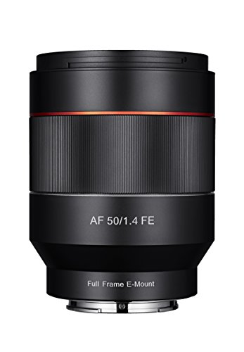 SAMYANG 単焦点標準レンズ AF 50mm F1.4 ソニー αE用 フルサイズ対応 ブラックの詳細を見る