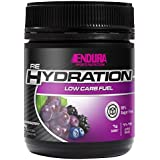 Endura Rehydration Low Carb Fuel, Grapeberry, 128 Grams