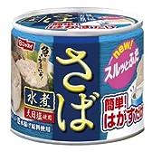 ニッスイ 優生活 国産さば缶詰 水煮24缶