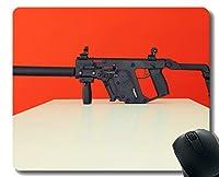 スリップ防止マウスパッドのマット、ベクトル極度のV軍の機関銃マウスパッド