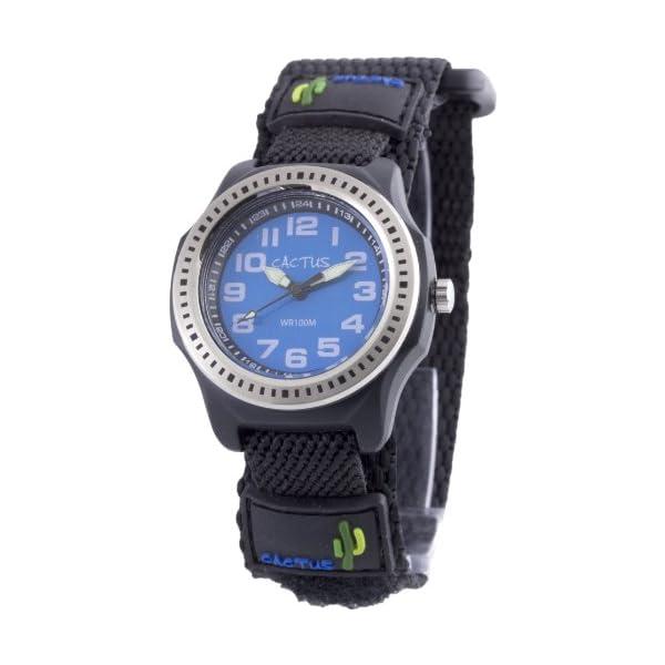 [カクタス]CACTUS キッズ腕時計 ブラック...の商品画像