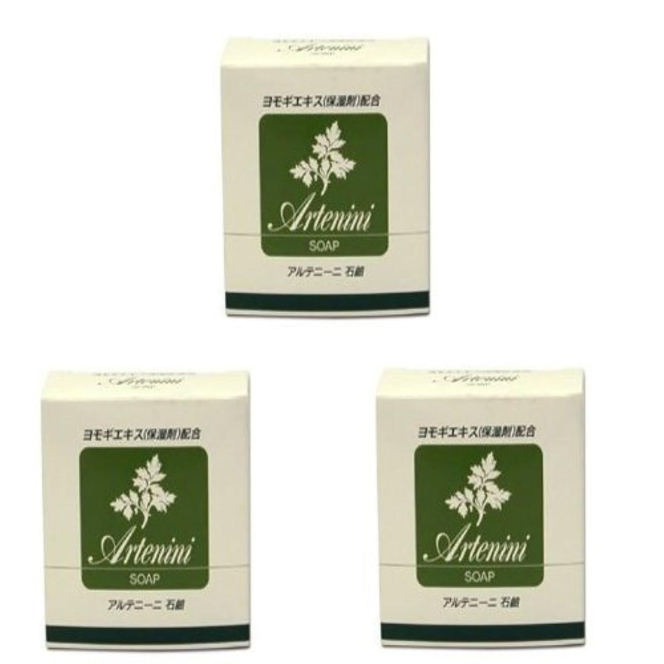 散らすアレルギー性構成するアルテニーニ 石鹸 3個組