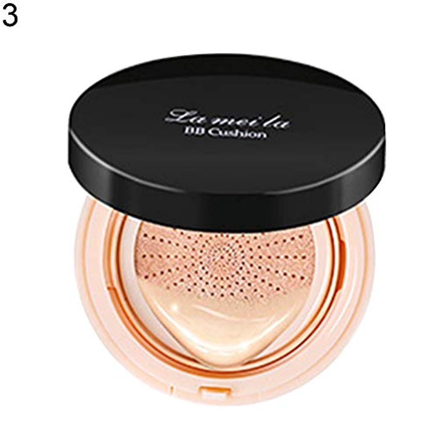 エアクッションBBクリームコンシーラー保湿ファンデーション化粧裸フェイス美容 - ナチュラルカラー