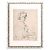 ドミニク・アングル Jean-Auguste-Dominique Ingres 「Ursin-Jules Vatinelle, 1820.」 額装アート作品