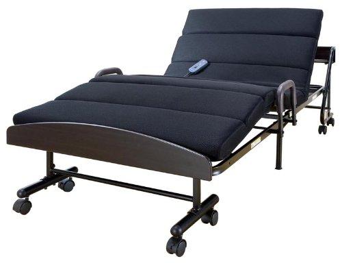 キュービック 宮付きモコモコ電動折りたたみベッド
