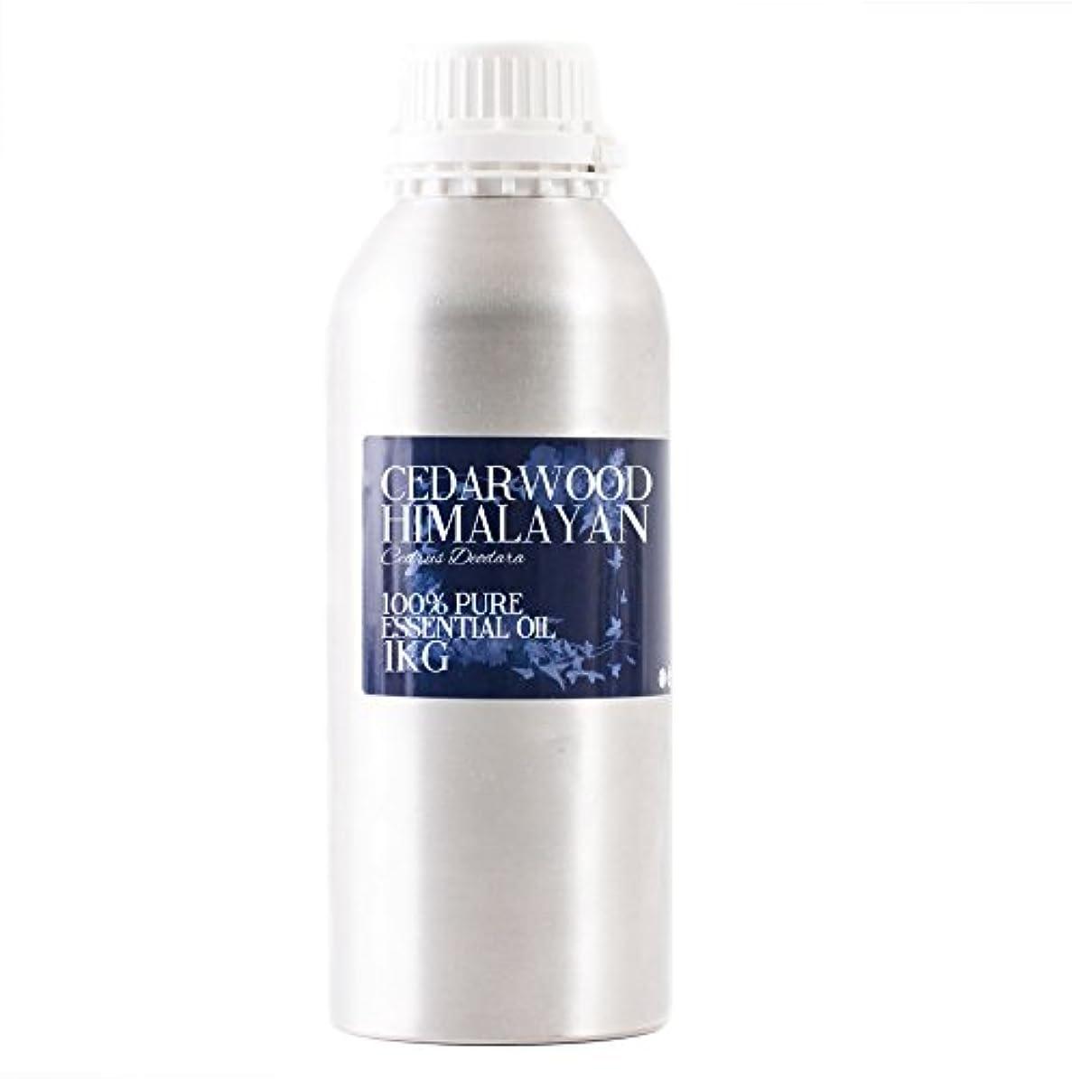 お香トランスペアレント普遍的なMystic Moments | Cedarwood Himalayan Essential Oil - 1Kg - 100% Pure