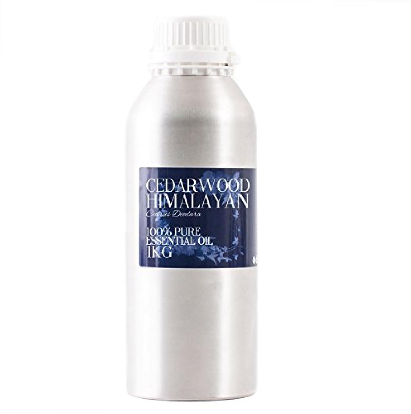 利得アルバニー策定するMystic Moments | Cedarwood Himalayan Essential Oil - 1Kg - 100% Pure