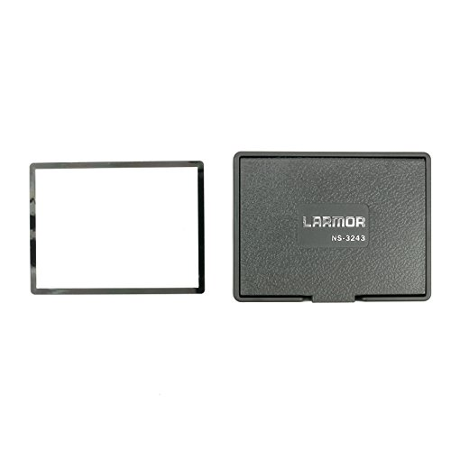 GGS LARMOR ラーモア モニターフード + ガラス液晶保護フィルム Nikon D5/D500/D810/D750/D7200/D610/Df用  マグネット着脱  SSHSP-TYPE N