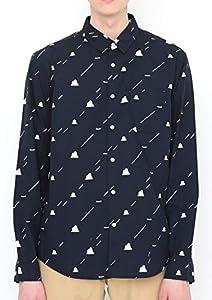 ポケモンセンターオリジナル graniph ロングスリーブシャツ ディグダ&ダグトリオ ストライプ M