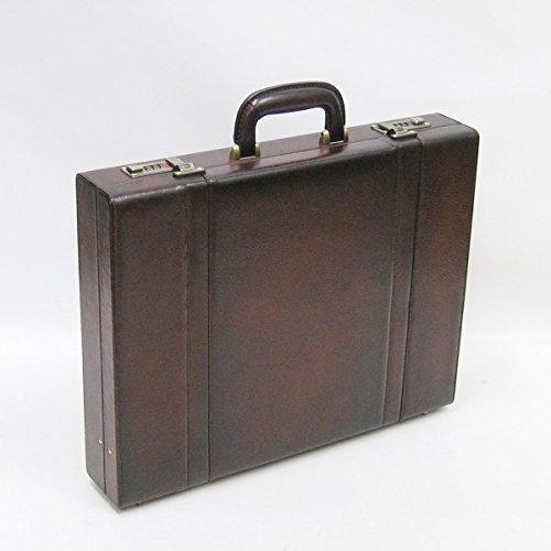 [ラガード] Lugard 5242 青木鞄 ビジネスバッグ アタッシュケース ブラウン B4ファイル収納可能