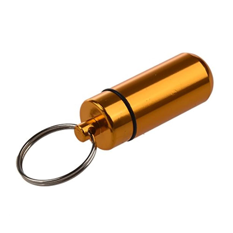 強要寛容な電子Nrpfell 5xアルミ製薬ボックス ケース ボトルホルダー コンテナ キーチェン